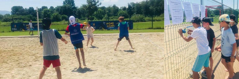 Rencontre Sandball